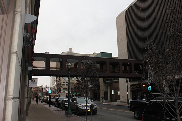 Jefferson St. pedestrian bridge